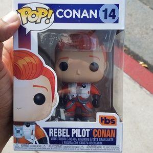 Funko Pop Rebel Pilot Conan Star Wars Comic Con